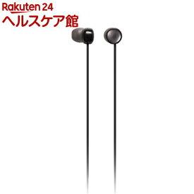 パナソニック ステレオインサイドホン Sweets Jewel RP-HJF3-K ブラック(1コ入)【パナソニック】
