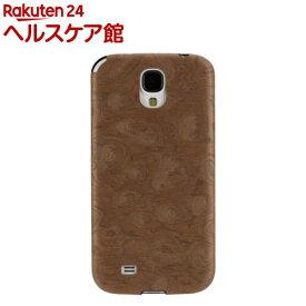 マン&ウッド GALAXY S4 ウッドケース ブラウンスワル ブラック I2189S4(1コ入)【マン&ウッド(Man&Wood)】