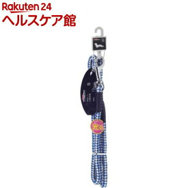 ドギーマン 反射カラーリード 10mm MD2492 ブルー(1本入)【ドギーマン(Doggy Man)】