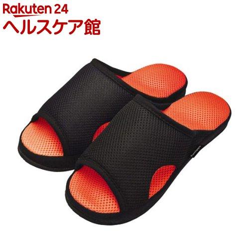 ガチ押し健康ルームサンダル メンズふみっぱ オレンジ(1足)【ふみっぱ】