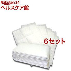 ペットシーツ スーパーワイド 厚型 せっけんの香り(25枚入*6コセット)【オリジナル ペットシーツ】