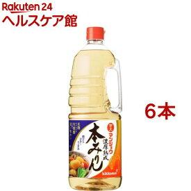 マンジョウ 濃厚熟成本みりん(1.8L*6本セット)
