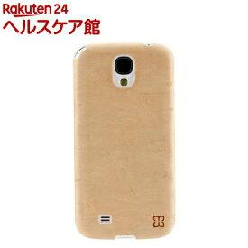 マン&ウッド GALAXY S4 スノーバードアイ ホワイト I2190S4(1コ入)【マン&ウッド(Man&Wood)】