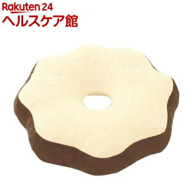 ジャスフィット円座クッション ブラウン(1コ入)