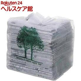 オルディ 分別収納取っ手付新聞雑誌収納袋 半透明 BOX入(30枚入)