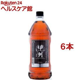 ウイスキー 甲州韮崎 オリジナル ペット(2.7L*6本セット)