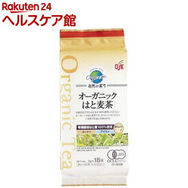 OSK オーガニック 自然の実り はと麦茶(8g*18袋入)