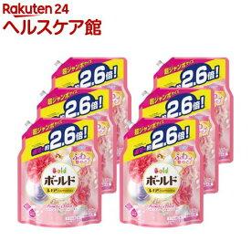ボールド 洗濯洗剤 アロマティックフローラル&サボンの香りつめかえ用 超ジャンボ(1.58kg*6コセット)【ボールド】