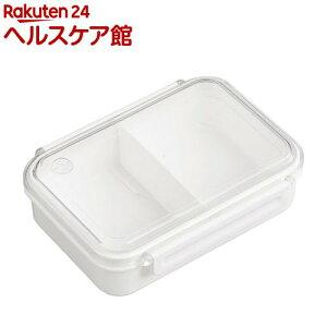 まるごと冷凍弁当 タイトボックス レシピ付き ホワイト 650ml PCL-3SR(1個)
