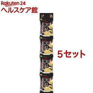 堅あげポテト プッチ4 ブラックペッパー(60g*5セット)