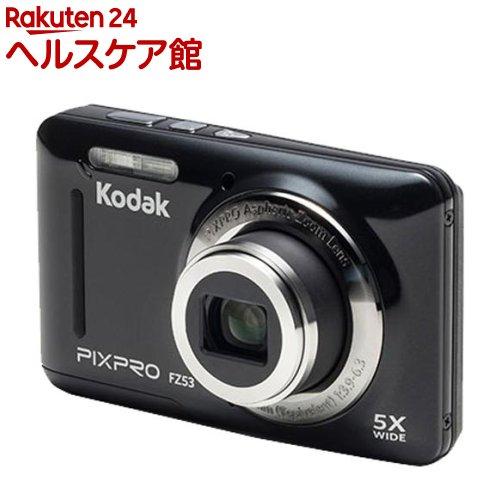 コダック コンパクトデジタルカメラ PIXPRO FZ53 ブラック(1台)