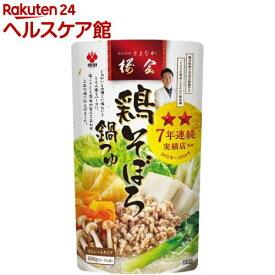 盛田 鶏そぼろ鍋つゆ(600g)【盛田(MORITA)】