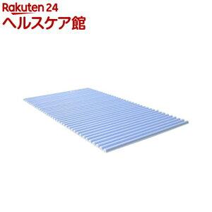 風呂ふた カラフル カラーウェーブ L14 75*140cm用 ブルー(1本入)