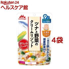大満足ごはん ツナと野菜のクリームリゾット(120g*4コセット)【大満足ごはん】