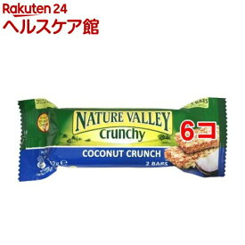 ネイチャーバレー ココナッツクランチ シングルパック(42g*6コセット)【ネイチャーバレー】