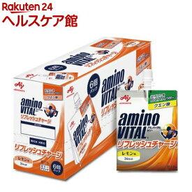 アミノバイタル ゼリー リフレッシュチャージ(180g*6コ入)【アミノバイタル(AMINO VITAL)】