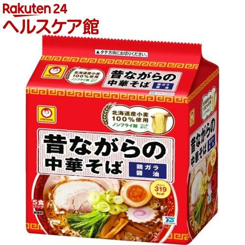 マルちゃん 昔ながらの中華そば(5食入)