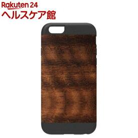マンアンドウッド iPhone6 天然木ケース プロテクション コアラ ブラック I4492i6(1コ入)【マン&ウッド(Man&Wood)】