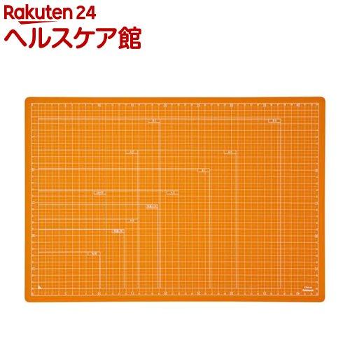 ナカバヤシ 折りたたみカッティングマット A3サイズ オレンジ CTMO-A3OR(1枚入)【ナカバヤシ】