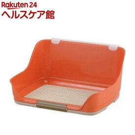 ボンビアルコン しつけるウォールトレー オレンジ Sサイズ(1コ入)【しつけるトレー】