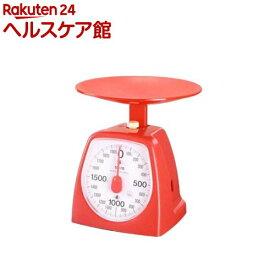 タニタ クッキングスケール 1439 2000g レッド 1439RD-21(1台)【タニタ(TANITA)】