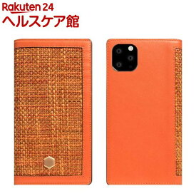 SLG Design iPhone 11 Pro Edition Calf Skin Leather Diary オレンジ SD17894i58R(1個)【SLG Design(エスエルジーデザイン)】