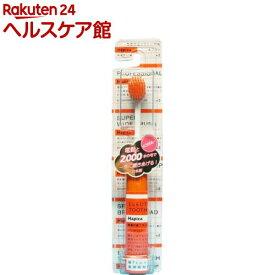 ハピカ ミニマム 電動付ハブラシ ハピカ 大ブラシ オレンジ+3 DBF-5D(1セット)【ハピカ】