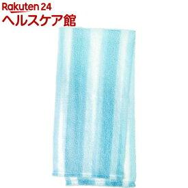マーナ うさぎのしっほのボディタオル ブルー B009B(1枚入)【マーナ】
