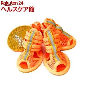 らんじゅ Dogメッシュサンダル オレンジ L(1足)【らんじゅ(L'ange)】