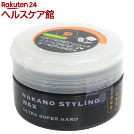 ナカノ スタイリングワックス 6 ファイバータイプ(90g)【ナカノ】