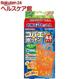 KINCHO コバエがポットン 吊るタイプT(2セット入)【spts10】【more20】【コバエがポットン】