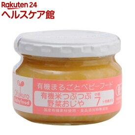 有機米つぶつぶ野菜おじや(100g)【有機まるごとベビーフード】