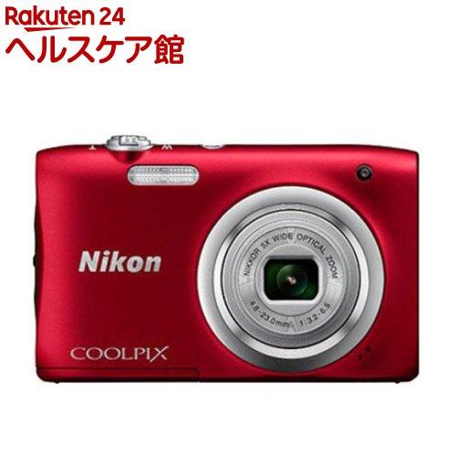 ニコン デジタルカメラ クールピクス A100 レッド(1台)【クールピクス(COOLPIX)】