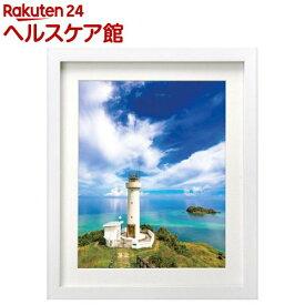 ハクバ 木製額縁 MM-01 6切サイズ スタンド付 ホワイト FWMM01-WT6(1コ入)【ハクバ(HAKUBA)】