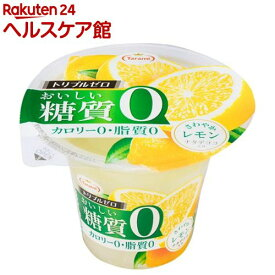 トリプルゼロ おいしい糖質ゼロ さわやかレモン(195g*6コ入)【spts3】【たらみ】