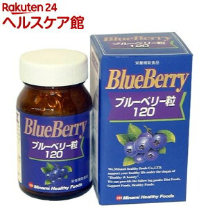 【訳あり】【アウトレット】ブルーベリー粒120(180粒)【ミナミヘルシーフーズ】