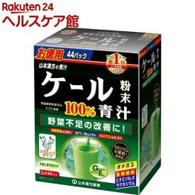 山本漢方ケール粉末100% スティック(3g*44パック)【山本漢方 青汁】