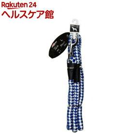 ドギーマン 反射カラーリード 16mm MD2494 ブルー(1本入)【ドギーマン(Doggy Man)】