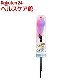 ねこモテ じゃらし ダブルしっぽ NMJ-01F(1本入)【ねこモテ】
