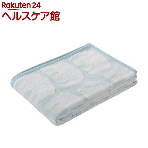 東京西川 毛布 フィンレイソン さっぱり触感 ブルー シングル FQ08501021B(1枚入)【東京西川】