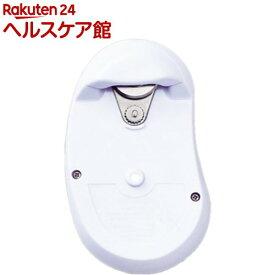 缶切り イタリアジアレッティ 自動らくらく缶オープナー ホワイト/オレンジ GR-86R(1コ入)