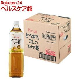 アイリスオーヤマ とうもろこしのひげ茶(1500ml*12本入)【アイリスオーヤマ】