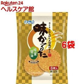 ぼんち 味かるた 蜂蜜醤油(6枚入*6袋セット)