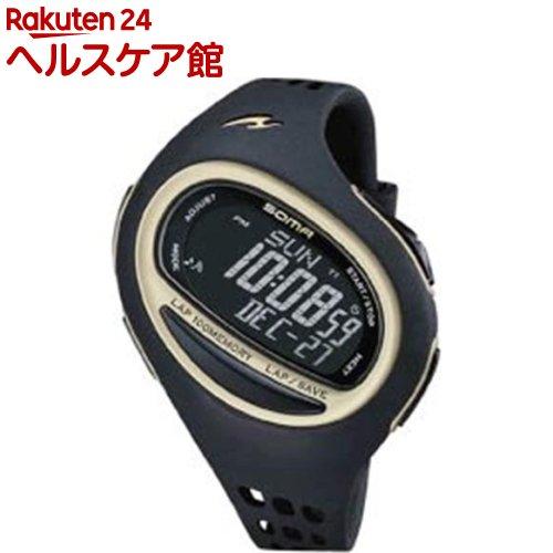 ソーマ ランニングウォッチランワン 100SL ミディアム ブラック/ゴールド NS09006(1コ入)【ソーマ(SOMA)】