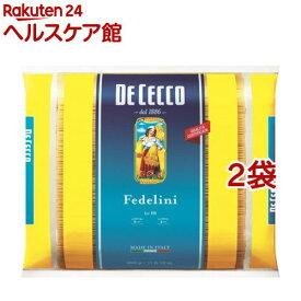 【訳あり】ディチェコ No.10 フェデリーニ(5kg*2袋セット)【ディチェコ(DE CECCO)】[パスタ]
