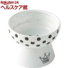 猫壱 おやつ皿 水玉(1コ入)【猫壱】
