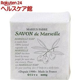 サボン・ド・マルセイユ 無香料 オリーブN(200g)【サボン・ド・マルセイユ】