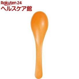 スプーン 塗 すぷーん れんげ オレンジ 4*15.2cm(1コ入)