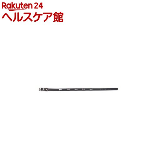 ダブルレザー カラー ボーン 3L 黒(1コ入)