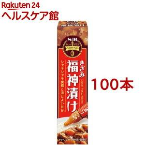 カレープラス きざみ福神漬け(40g*100本セット)【カレープラス】